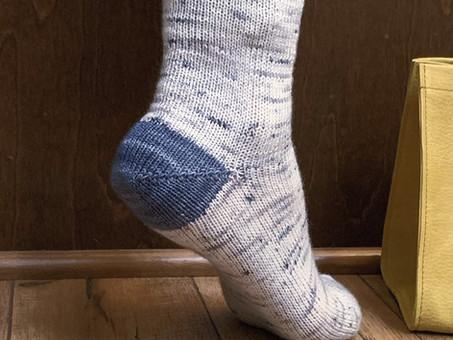 Basic Toe-Up Socks Pattern & Class Release!