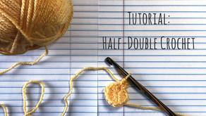 Tutorial: US Half-Double Crochet Stitch!