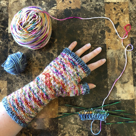 WiP - Hermione's Everyday Mitts!