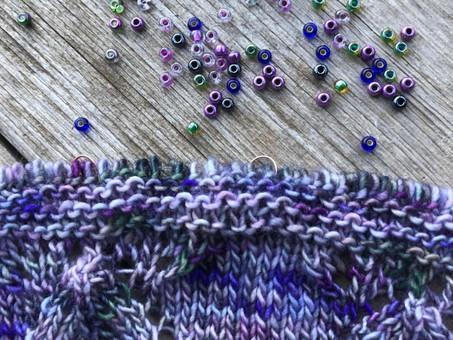 Tutorial: Adding Beads to Knitting!