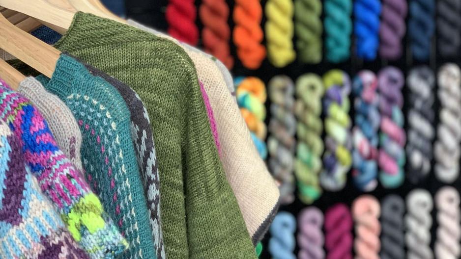 June's Featured Dyer: Queen City Yarn!