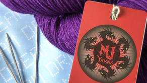 February's Featured Dyer: MJ Yarns!