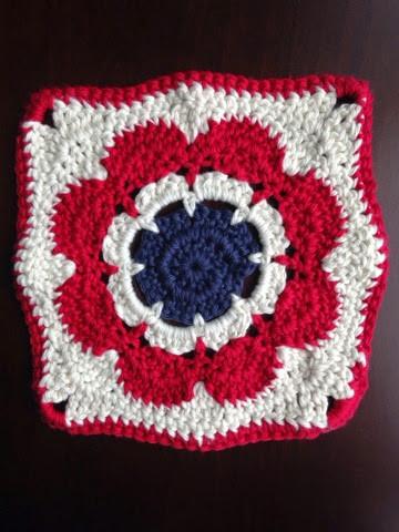 Original Americana Rose Dish Cloth