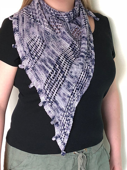 Baymen Shawl Knitting Pattern