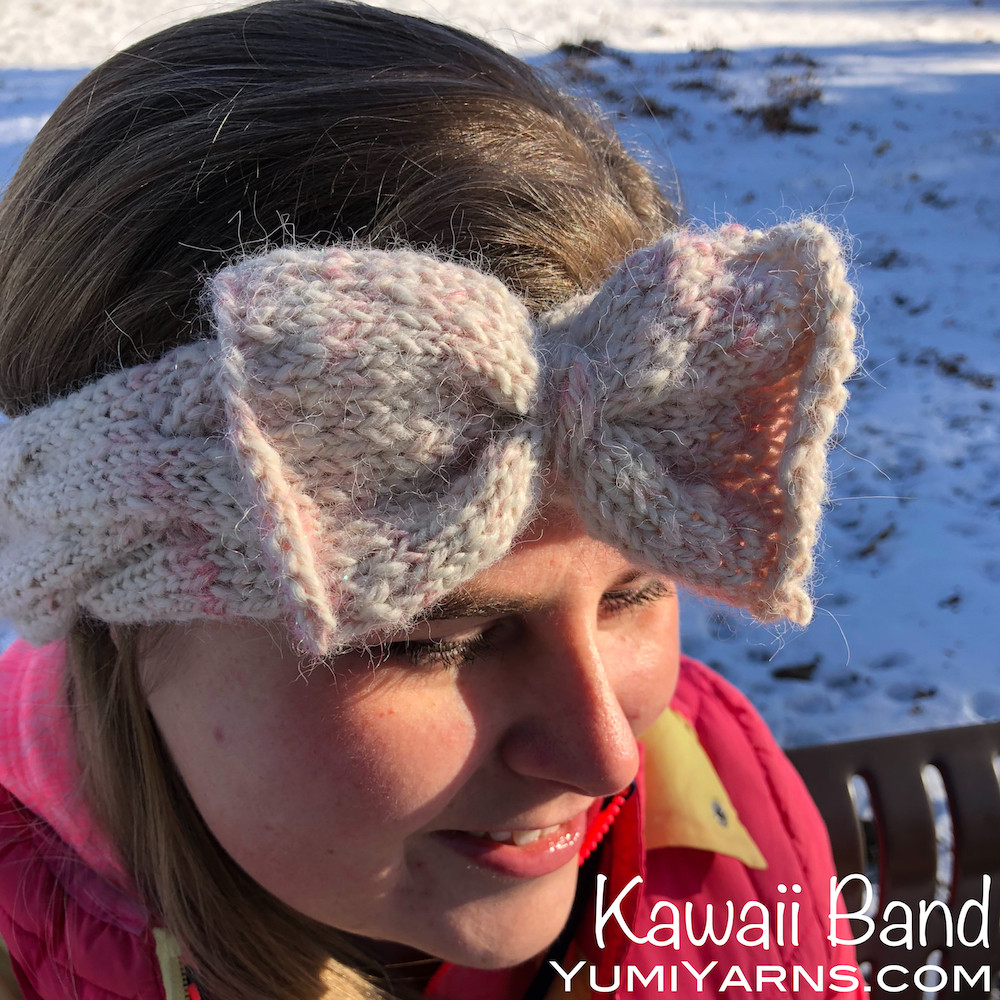 Kawaii Band Knitting Pattern