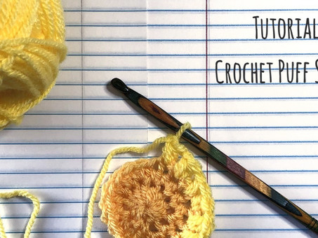 Tutorial: Puff Crochet Stitch!