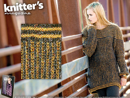 New Pattern! Boyfriend Brioche Sweater