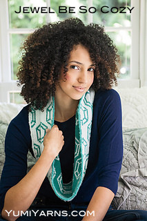 Jewel Be So Cozy Circle Scarf