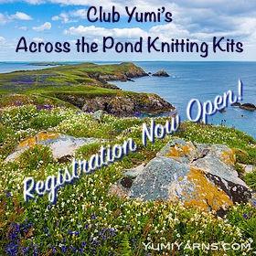 Across the Pond Knitting Kit Trio Pre-Order