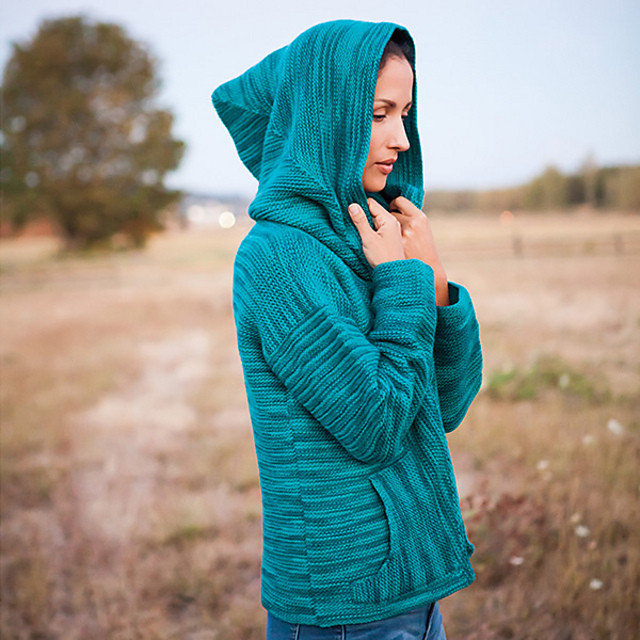 This week's #throwbackthursday sale is the Zia Hoodie sweater knitting pattern available on Ravelry!