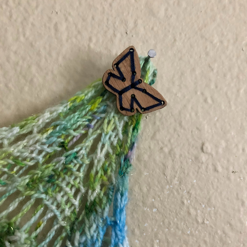 Katrinkles Stitchable Butterfly Button