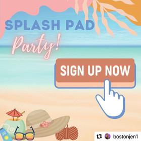 Splash Pad Party 2021 Details!