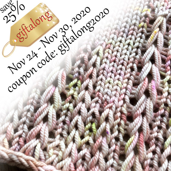 Indie Gift-a-Long 2020 Pattern Sale!