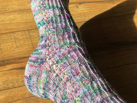 Garden Gate Socks Pattern Release!