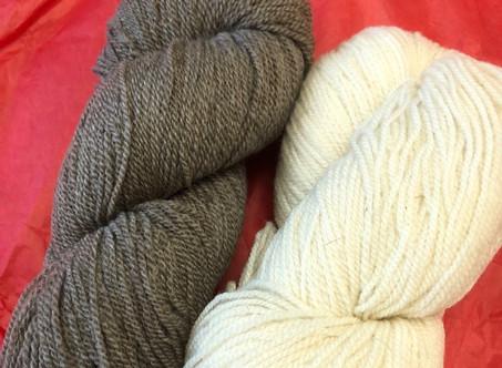 Yarn Review: Local Cormo from Dresow Family Farm!