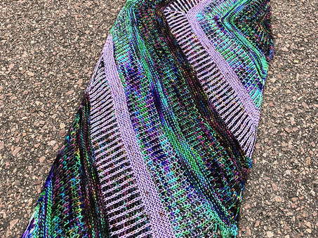 Intergalactic Wrap Now on YumiYarns.com!