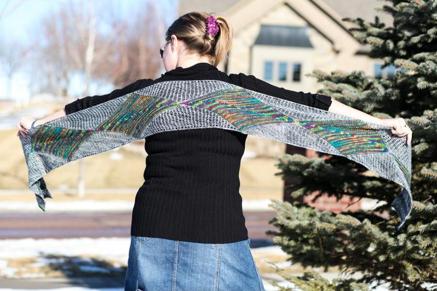 The Zenon Stole is 20% off for Newsletter Subscribers this week!