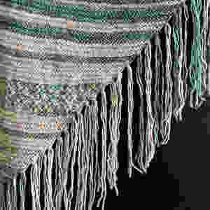 Magic Fringe Poncho Knitting Kits Available at StevenBe