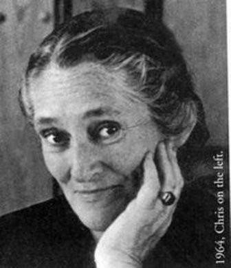 Knitting legend Elizabeth Zimmerman, creator of the Pi Shawl