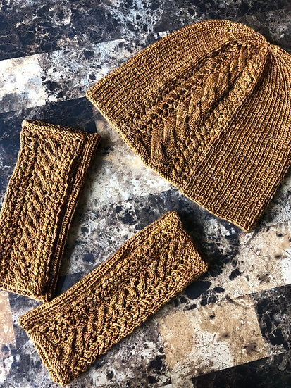 Irish Pub Crawl Hat & Mitts Pattern