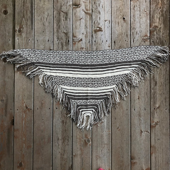 Magic Fringe Shawl