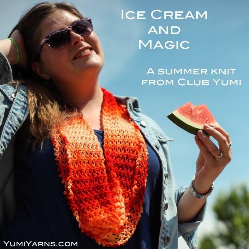 Ice Cream and Magic Knitting Pattern