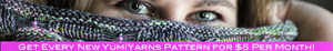 Get every new YumiYarns knitting & crochet pattern for $5 per month by becoming a Patreon member