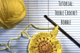 Tutorial: Treble Crochet Bobble!