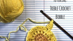 Tutorial: Treble Crochet Bobble!