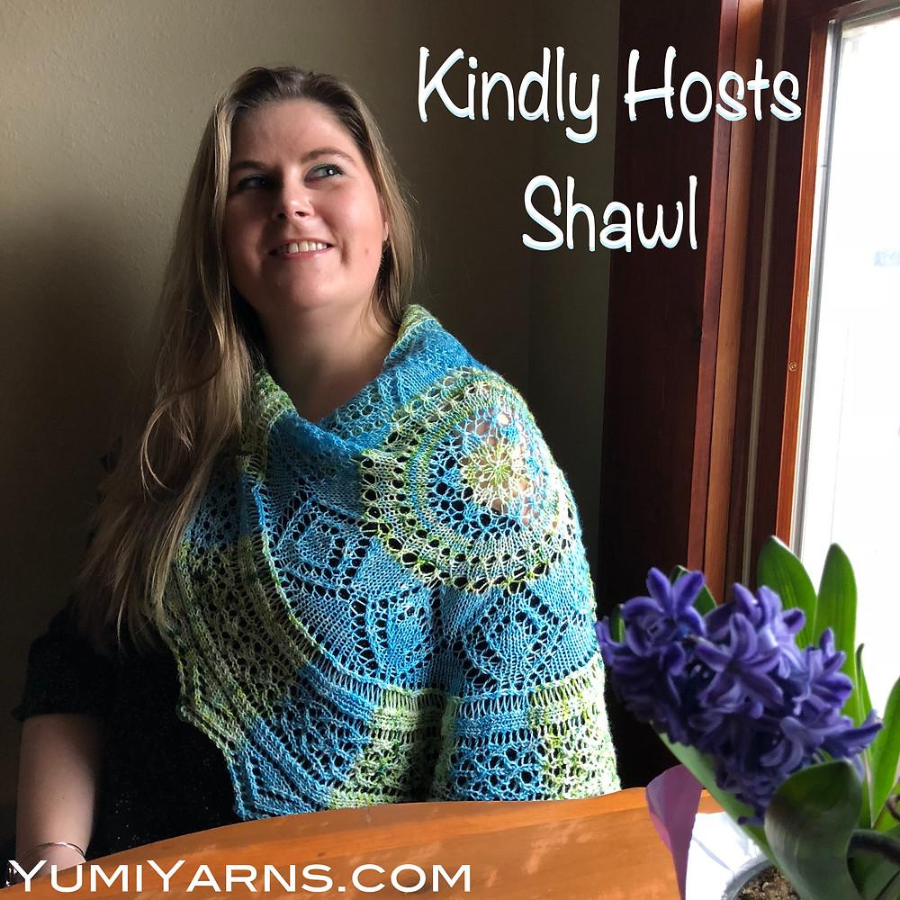 The Kindly Hosts Shawl
