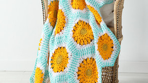 Zinnia Blossoms Afghan Pattern Release!