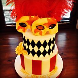 Hen Do Cake, Circus cake