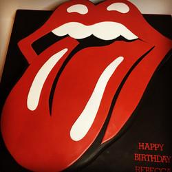 Rolling Stones Cake, Birthday cake