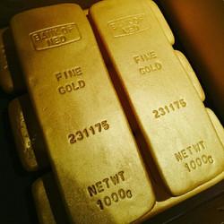 gold bars cake, corporate cake