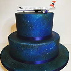 airplane cake, plane cake, ba plane cake