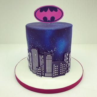 Batwoman Cake