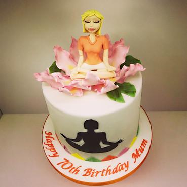 yoga cake