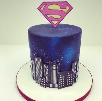 Superwoman Cake