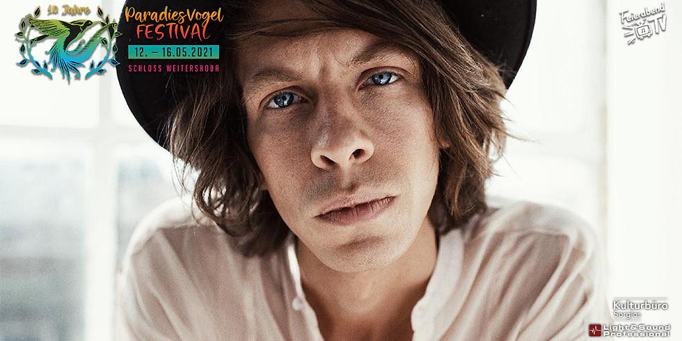 17:00 Uhr - Max Prosa   10. Paradiesvogel Festival