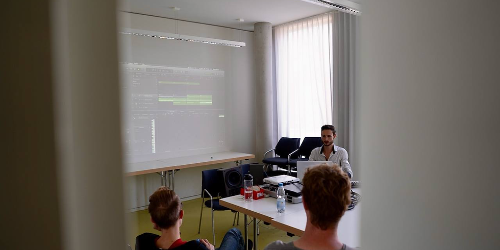 Workshop: HomeRecording (Software & Plugins) mit David Stebner