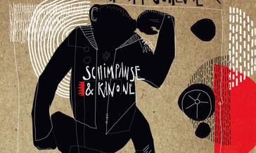 Schimpanse und Kanone Cover