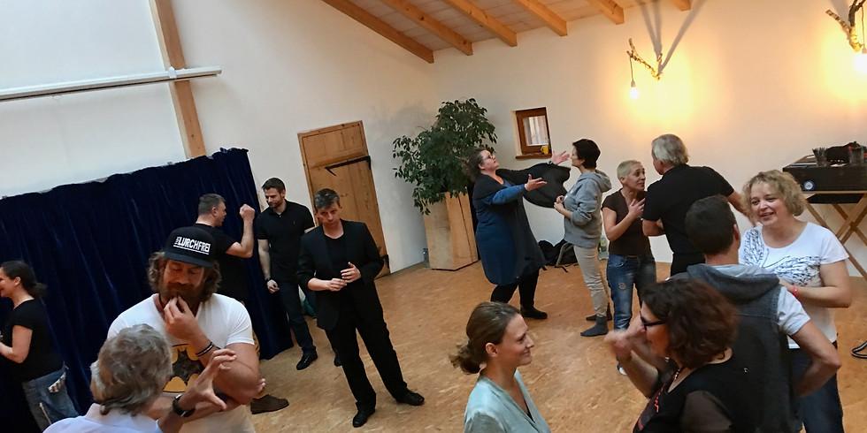 Workshop: Kreativität + Bühnenpräsenz mit Gaston Florin
