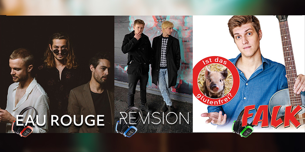 Eau Rouge / Revision / FALK | DREIxDREI Sorglos Kopfhörer Konzert