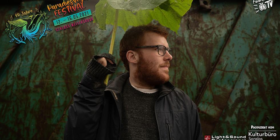 20:00 Uhr Tobias Dellit | 10. Paradiesvogel Festival // Feierabend TV
