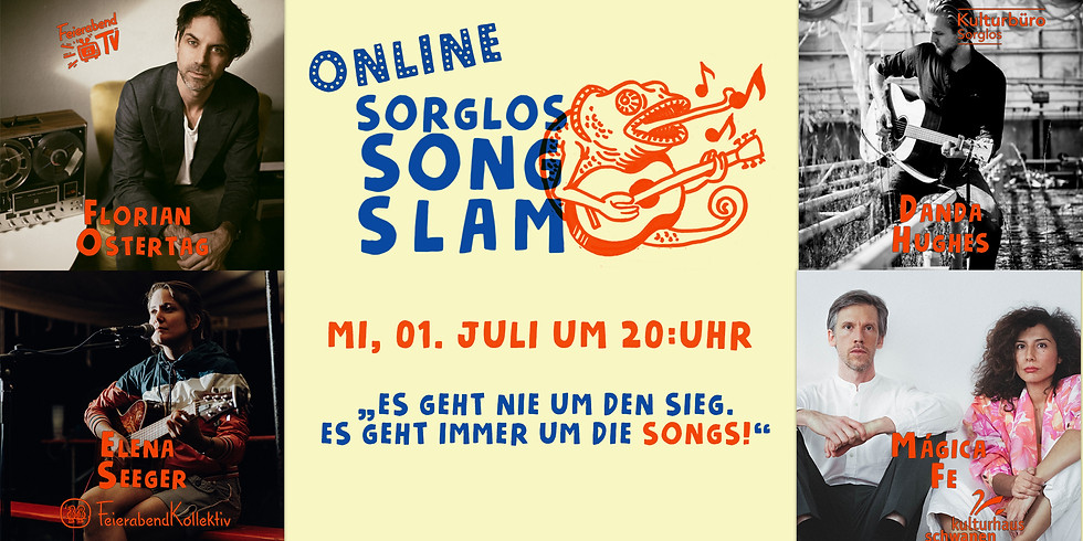 Sorglos Online Song Slam | Kulturhaus Schwanen