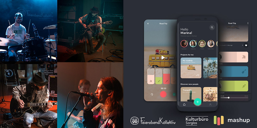 Sorglos Online Jam Session // MashUp App (Alpha)