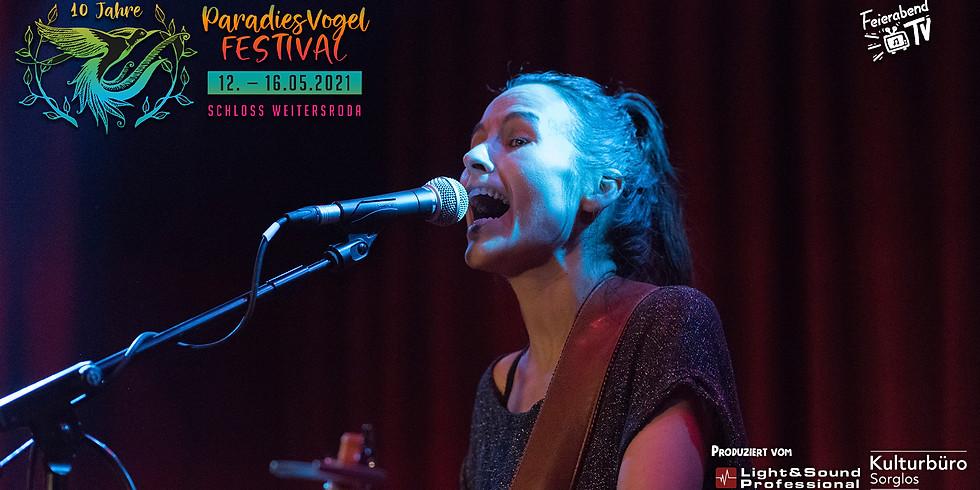 15:00 Uhr - Maike Rosa Vogel   10. Paradiesvogel Festival
