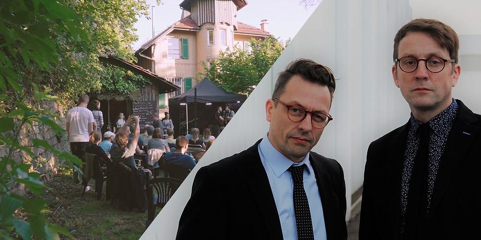 Ulrich Zehfuß & TC Debus LIVE+Stream | Feierabendgartenkonzert