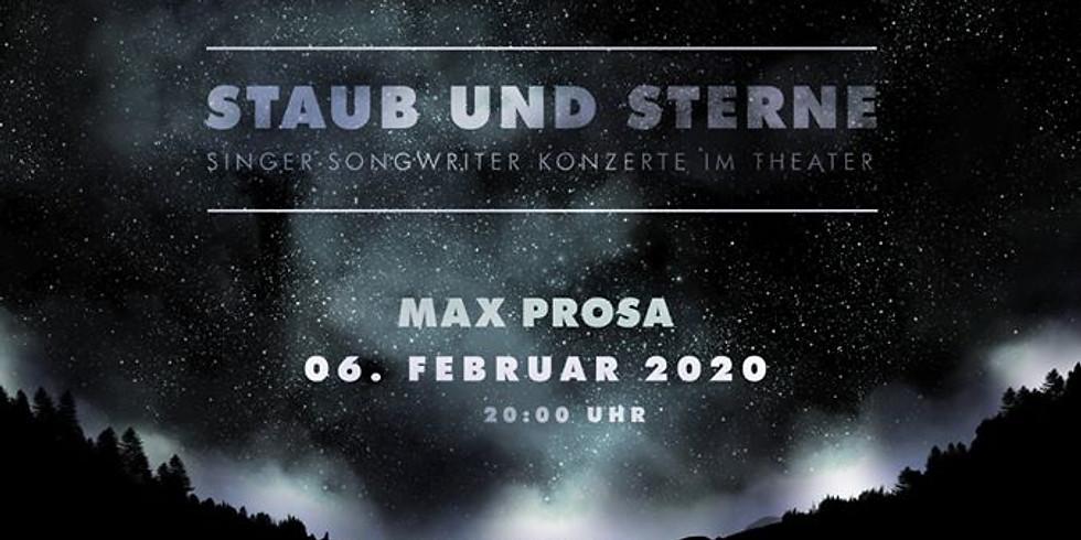 Staub und Sterne mit Max Prosa / Stuttgart