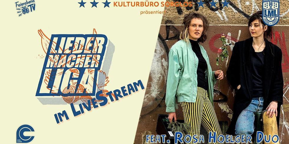 Liedermacher!innen Liga feat. Rosa Hoelger Duo   Stuttgart